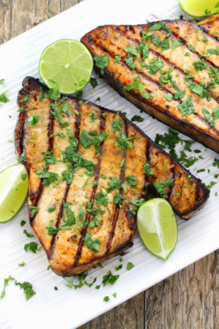 GRILLED SWORD FISH
