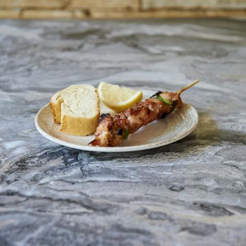 Καλαμάκι κοτόπουλο μπούτι
