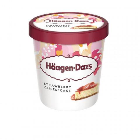 Haagen- Dazs STRAWBERRY CHEESECAKE